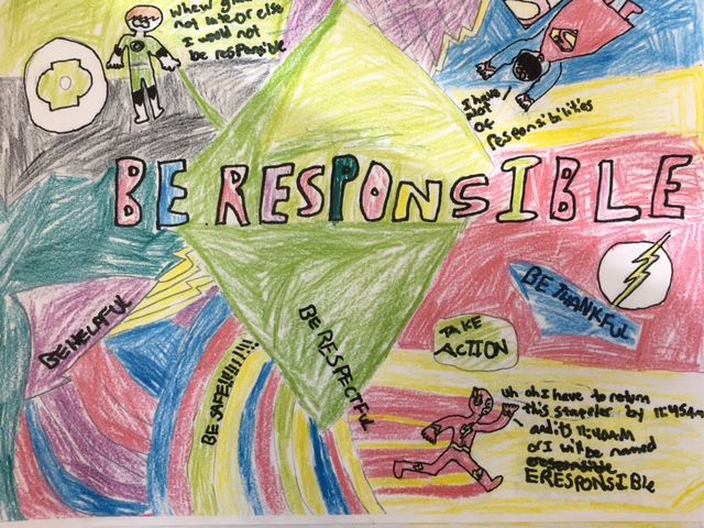 Be Responsible school poster